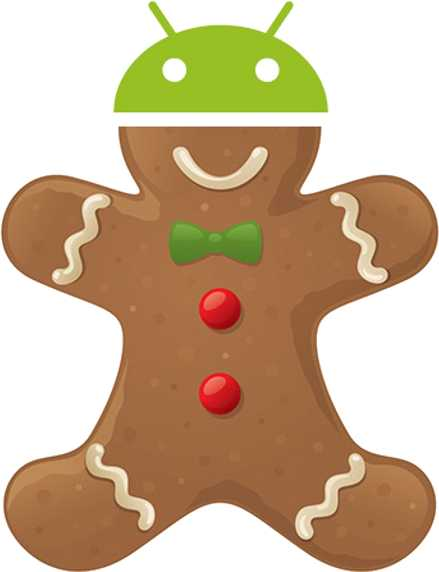 Android 2.3.3–2.3.7 Gingerbread (API level 10)