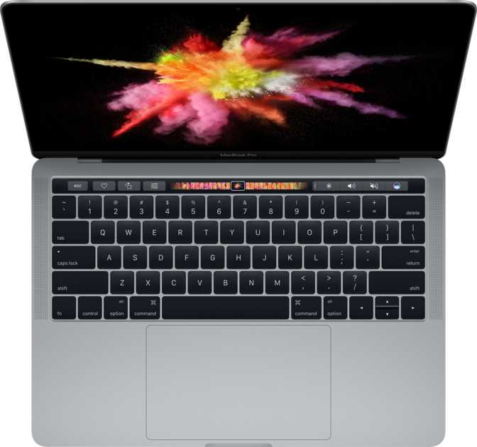 """Apple MacBook Pro (2016) 13"""" with Touch Bar and Touch ID / Intel Core i5 3.1GHz / 16GB / 256GB"""