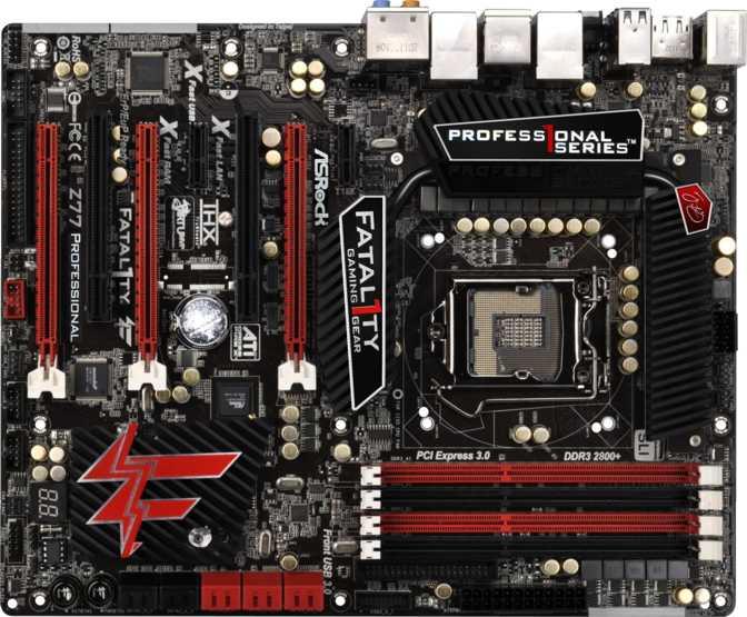ASRock Fatal1ty Z77 Professional