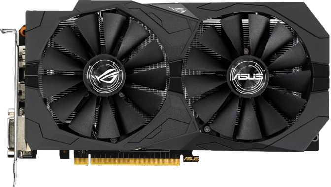 Asus ROG Strix GeForce GTX 1050 Ti OC