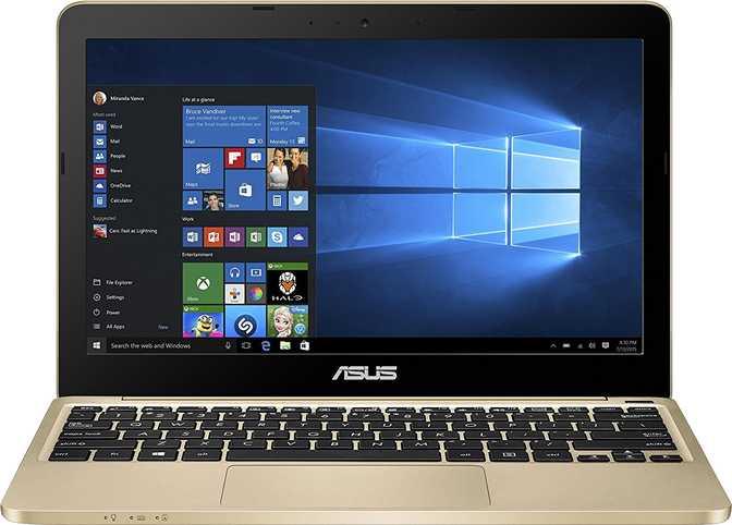 """Asus VivoBook E200HA 11.6"""" Intel Atom x5 Z8300 1.44GHz / 2GB / 32GB"""