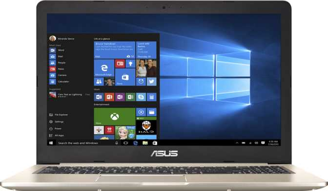 "Asus VivoBook Pro 15 (N580) 15.6"" Intel Core i7-7700HQ 2.8 Ghz / 16GB / 512GB SSD + 2TB HDD"