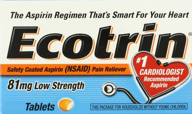 Ecotrin Low Strength