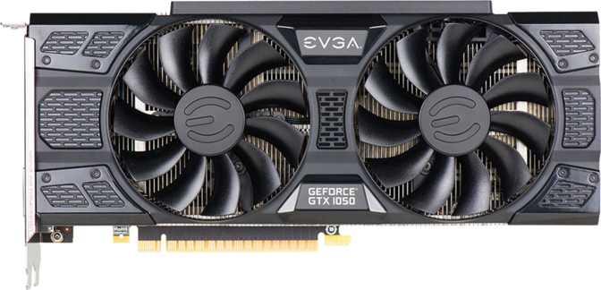 EVGA GeForce GTX 1050 FTW DT ACX 3.0