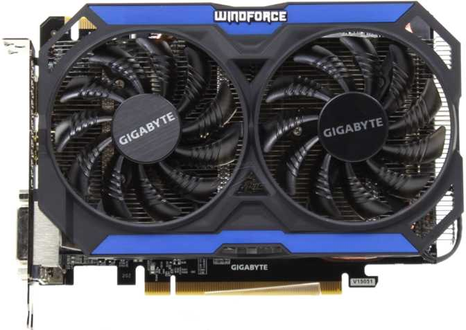 Gigabyte GeForce GTX 960 WindForce 2X OC CN
