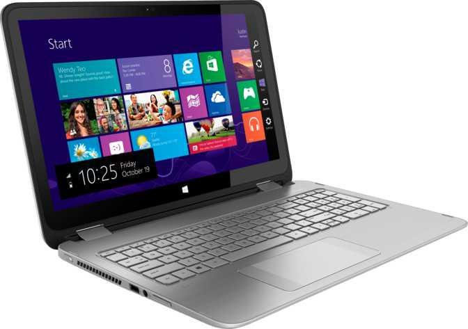 """HP Envy x360 15 15.6"""" Intel Core i5-4210U 1.7GHz / 8GB / 750GB"""