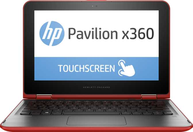 "HP Pavilion x360 Touch 11.6"" Intel Pentium N3520 2.16GHz / 4GB / 500GB"