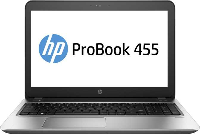 "HP ProBook 455 G4 15.6"" AMD A-Series 9600P 2.4GHz / 8GB / 500GB"