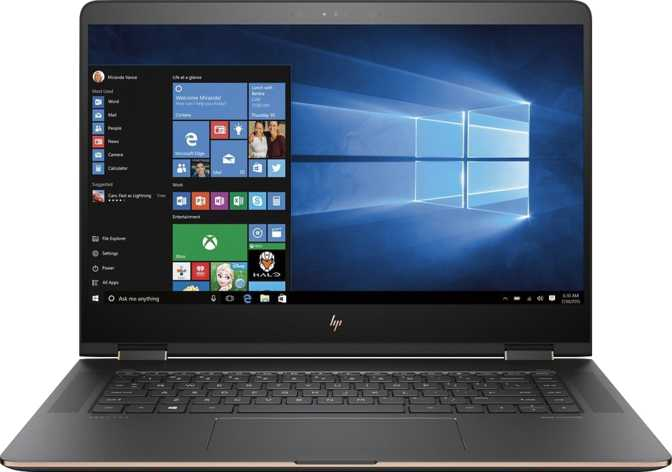 "HP Spectre x360 (2017) 15.6"" Intel Core i7-7500U 2.7GHz / 16GB / 512GB"