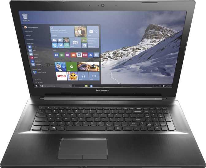 """Lenovo Z70 17.3"""" Intel Core i3-5010U 2.1GHz / 4GB / 500GB"""