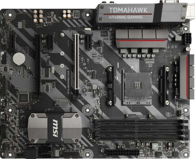 MSI B350 Tomahawk Plus