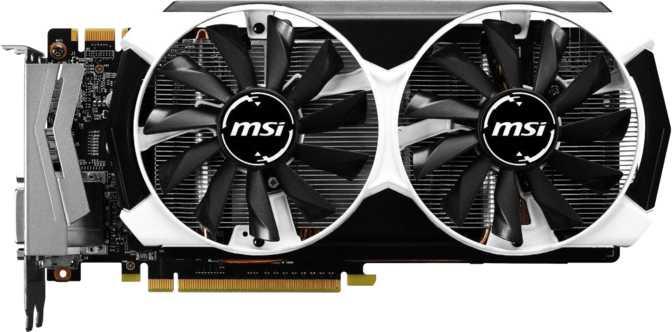 MSI GeForce GTX 960 OC 4GB