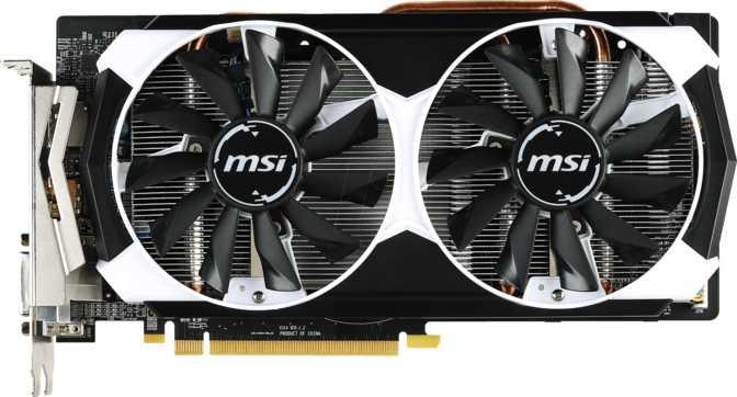 MSI Radeon R9 380 Armor 2X OC 2GB