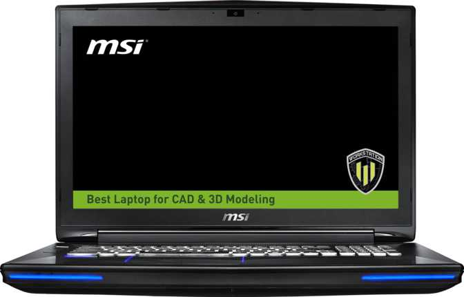 "MSI WT72 6QN 17.3"" Intel Xeon E3-1505M v5 2.8GHz / 64GB / 1TB"