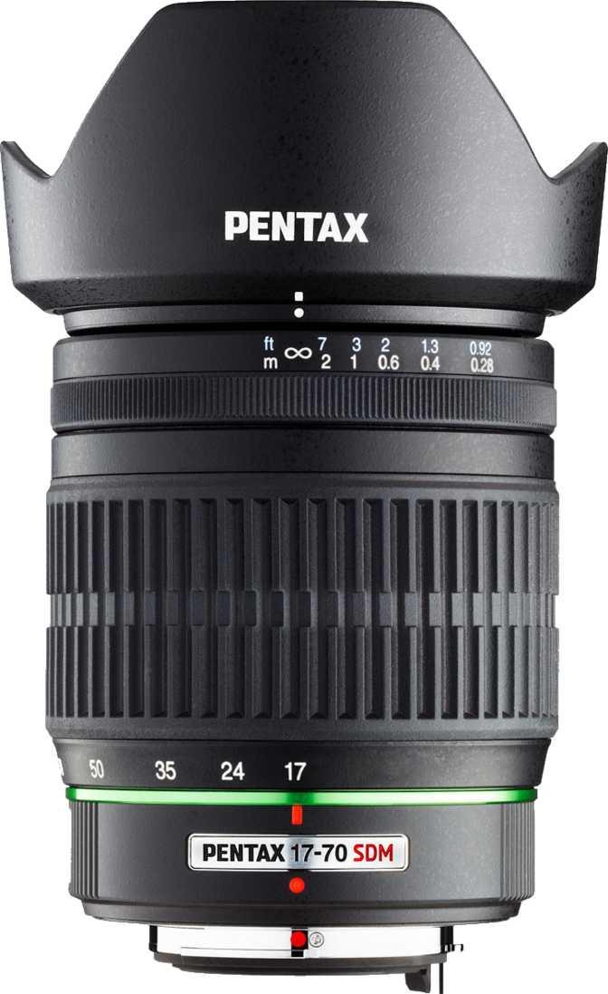 Pentax smc DA 17-70mm F4 AL IF SDM