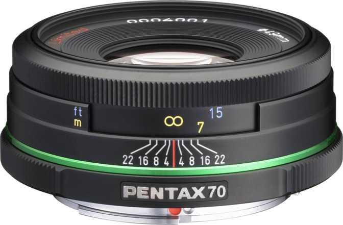 Pentax smc DA 70mm F2.4 Limited