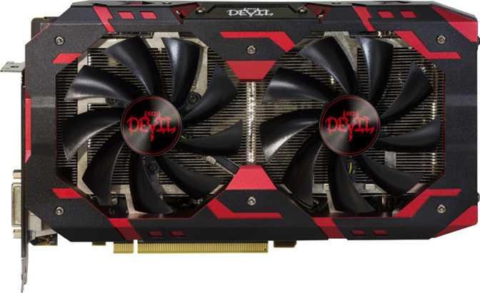 PowerColor Red Devil Radeon RX 580 Golden Sample