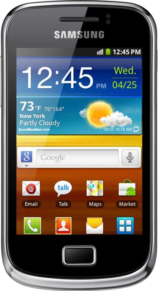 Samsung Galaxy mini 2 S6500