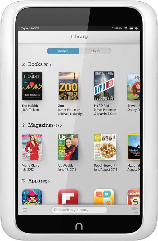 Barnes & Noble NOOK HD Snow 16GB