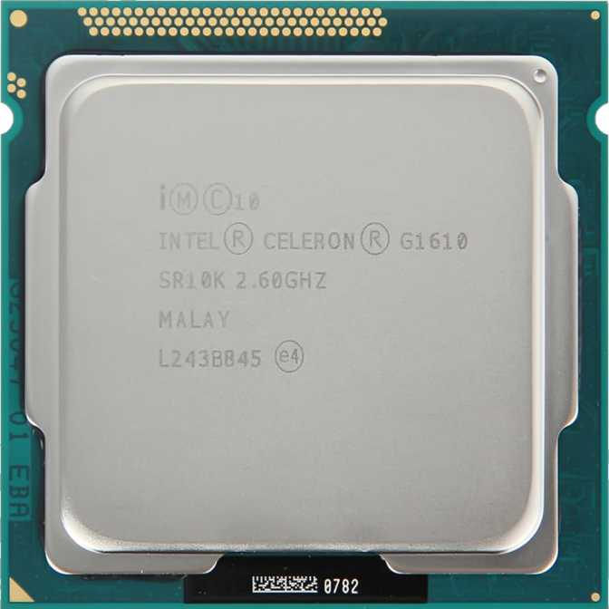 Intel Celeron 867