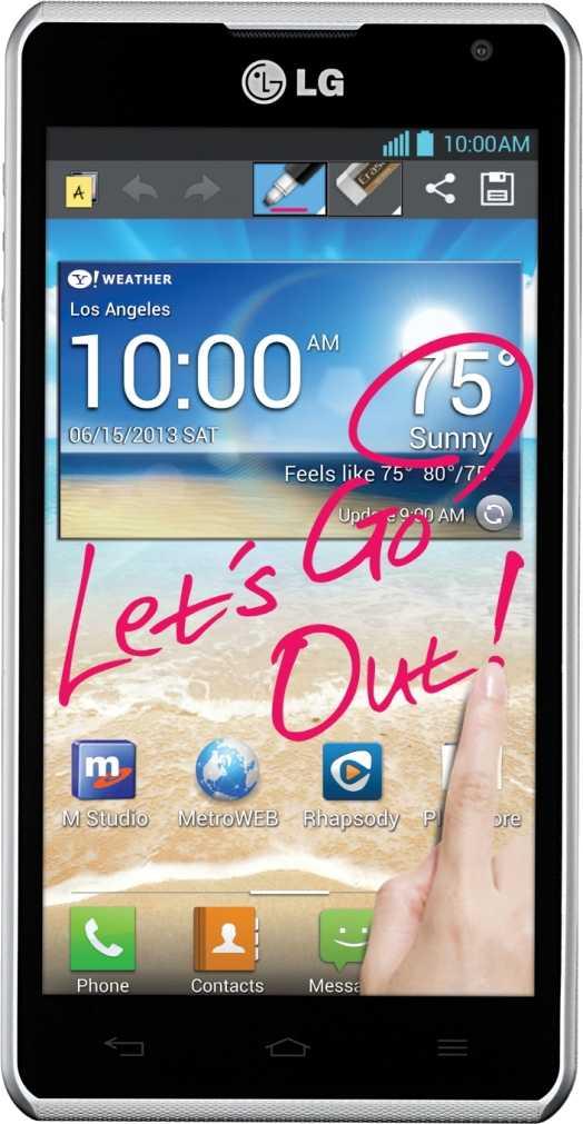 LG Spirit 4G MS870