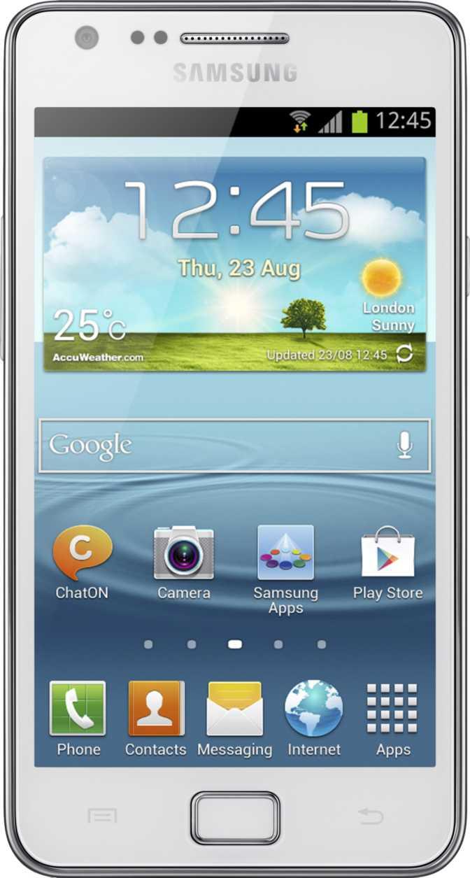 Samsung Galaxy S II Plus NFC