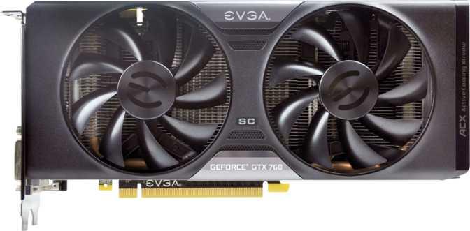 EVGA GeForce GTX 760 SC w/ ACX Cooler