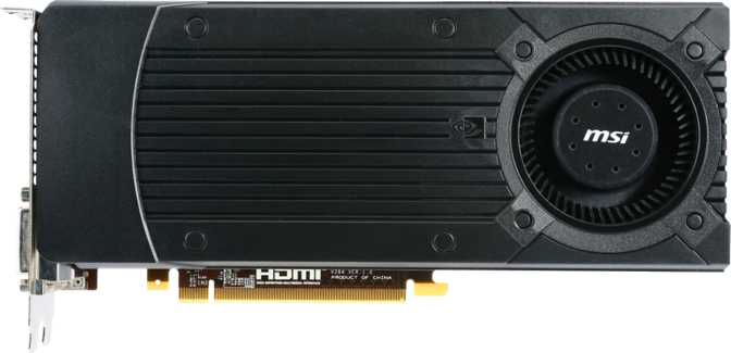 MSI GeForce GTX 760