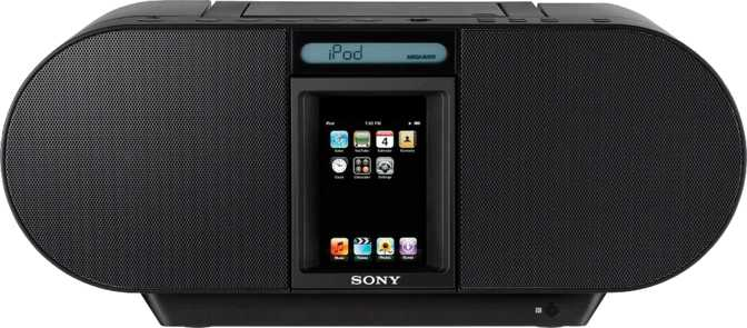 Sony CD Boombox ZS-S4iP