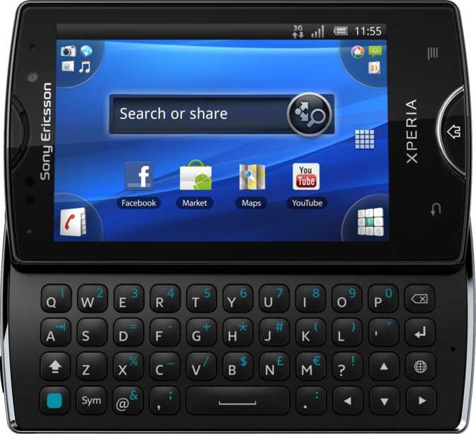 Sony Ericsson Xperia X10 mini pro2