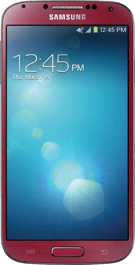 Samsung Galaxy S4 Red Aurora