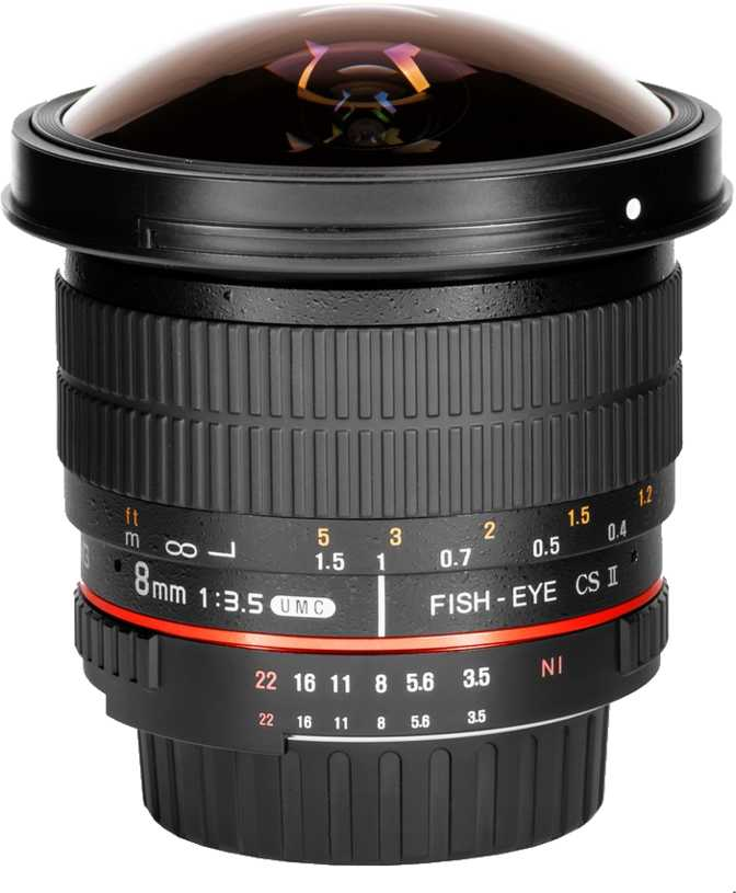 Samyang 8mm f/3.5 UMC Fish-eye CS II