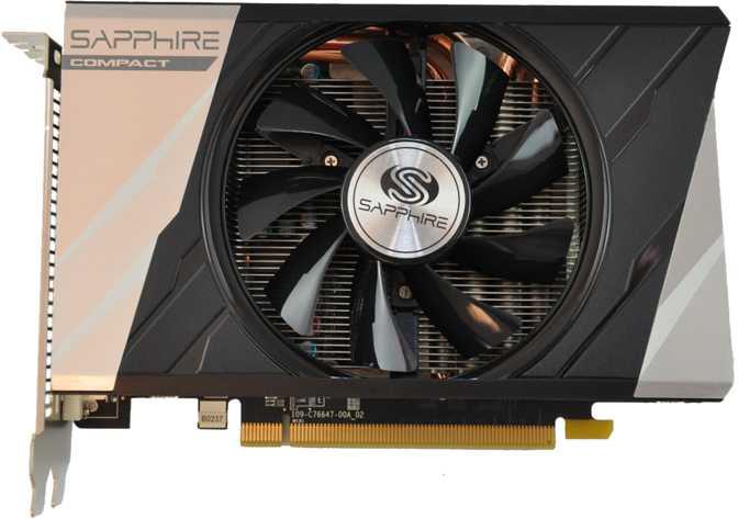 Sapphire Radeon R9 380 ITX Compact 2GB