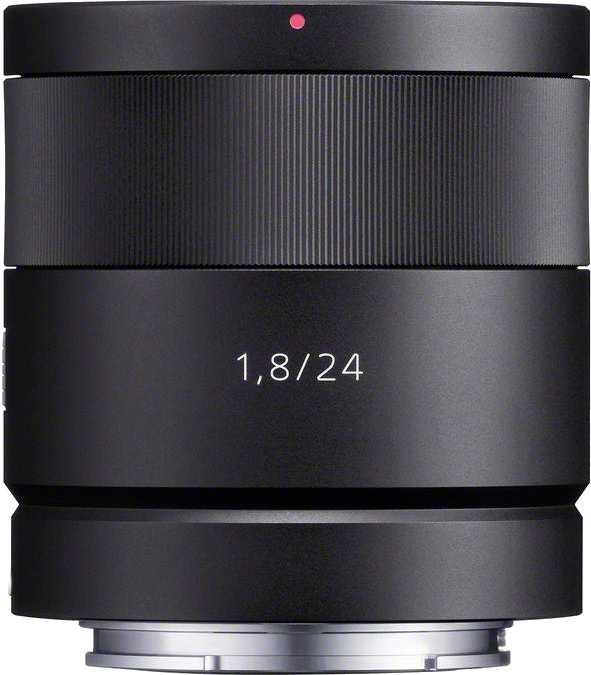 Sony E 24mm F1.8 ZA Carl Zeiss Sonnar T*