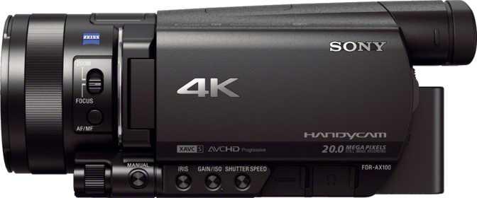 Sony Handycam AX100
