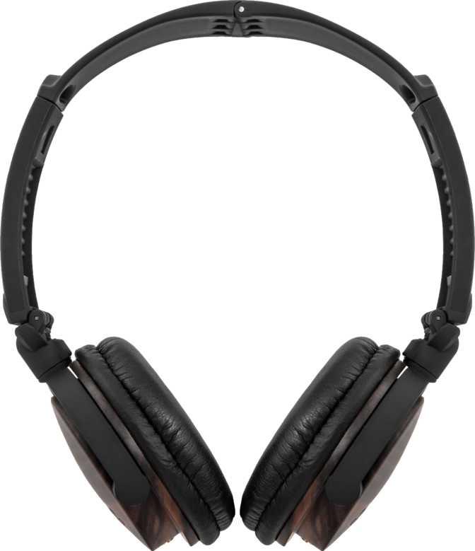 ZAGG Audio ZR-LE Wooden Over-Ear Headphones